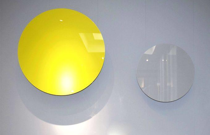 contenitore circolare giallo