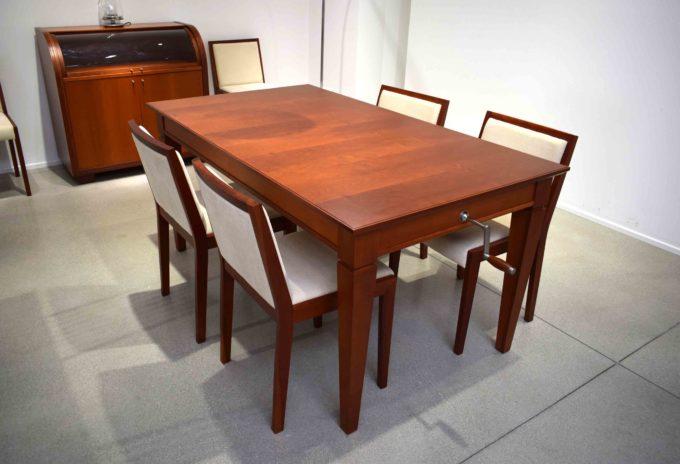 tavolo sedie feg ciliegio scuro
