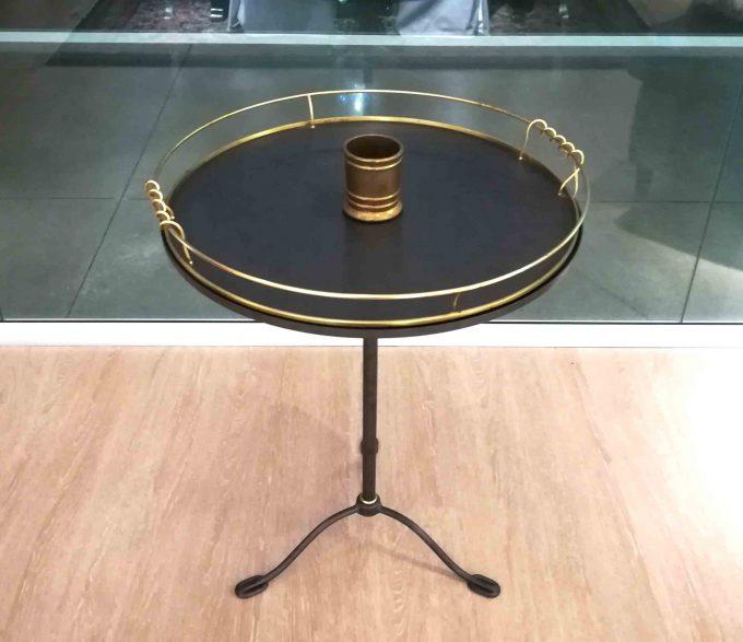 Tavolino ottone anticato