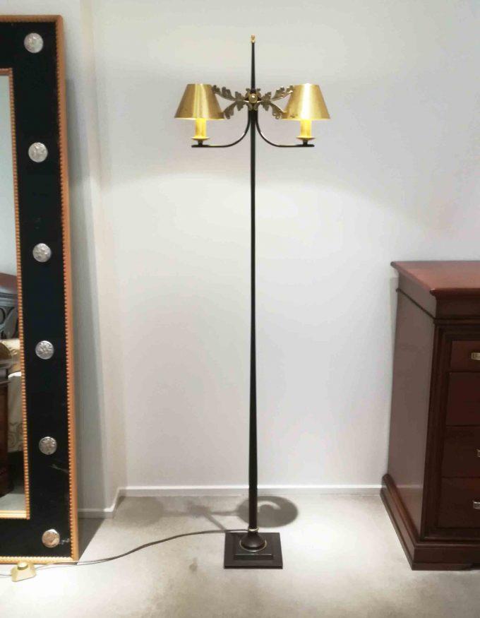 Lampada ottone anticato