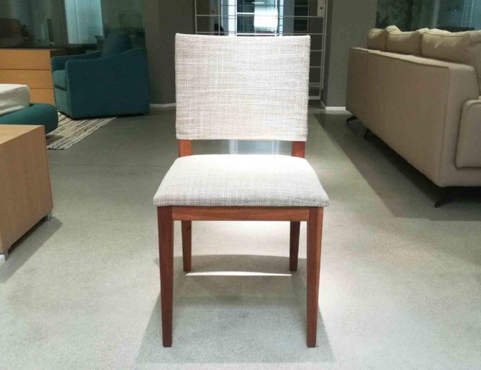 sedia feg legno tessuto