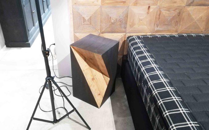 Tavolino Dialma Brown legno nero