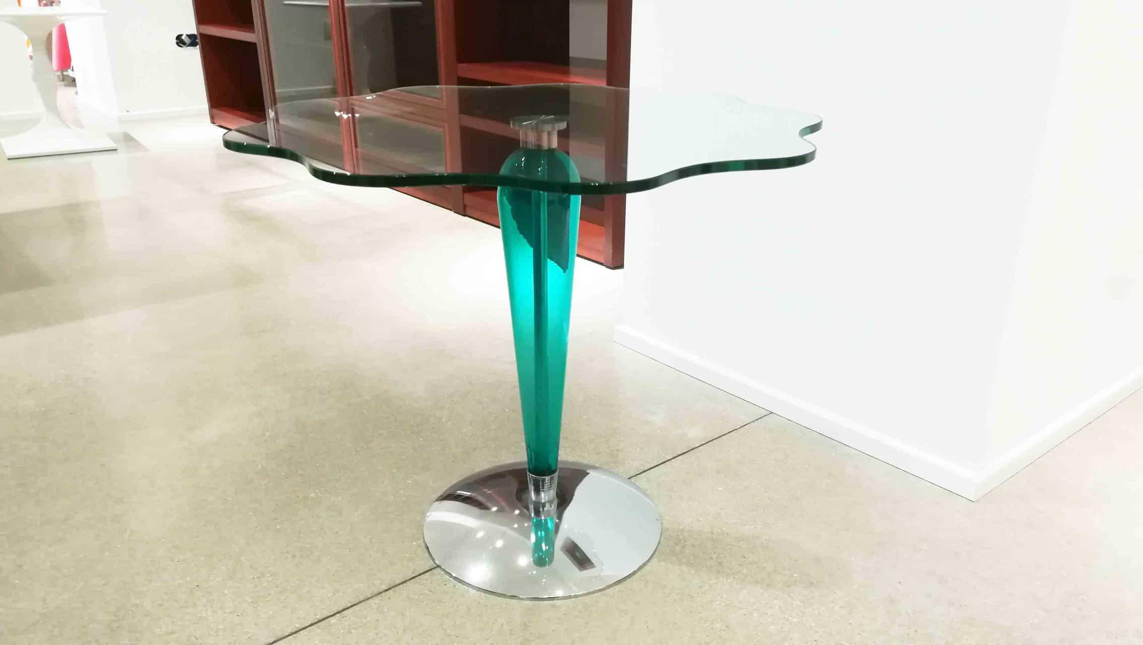 Tavolino in cristallo | D\'Amico Arreda