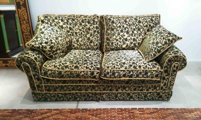 divano damascato