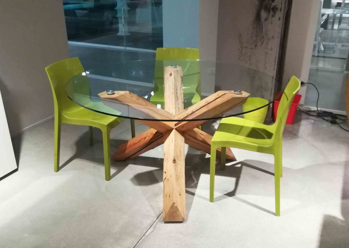 Tavolo Travo legno centenario