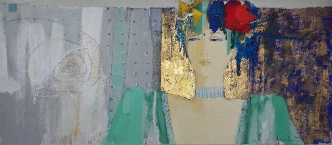Archetti Enzo - La Spirale Cosmica - 65x150 cm
