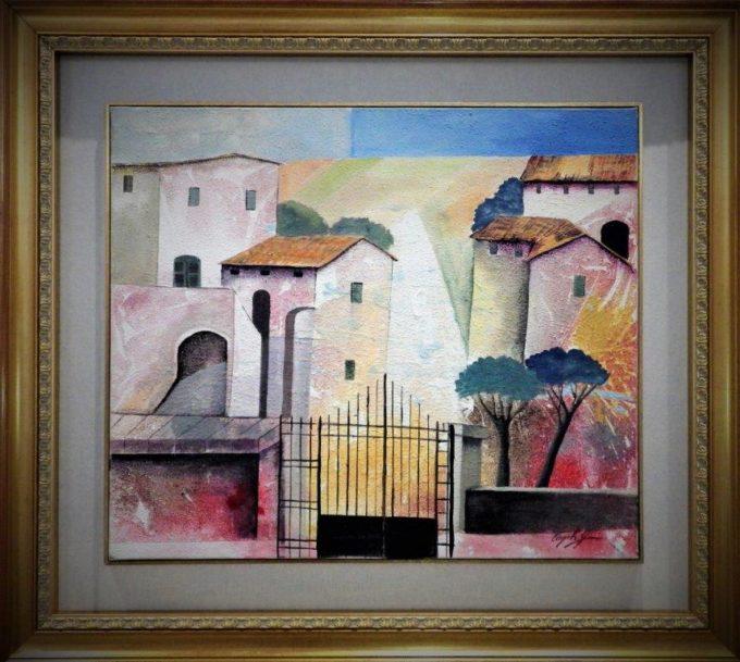 Cagili Giovanni - Paesaggio emiliano