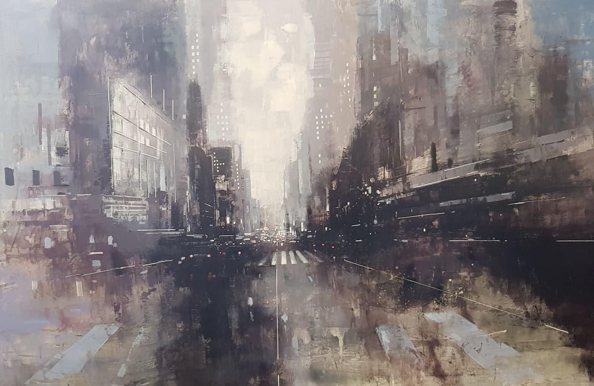 Paolo Fedeli pittore - City - Galleria d'Arte - D'Amico Arreda