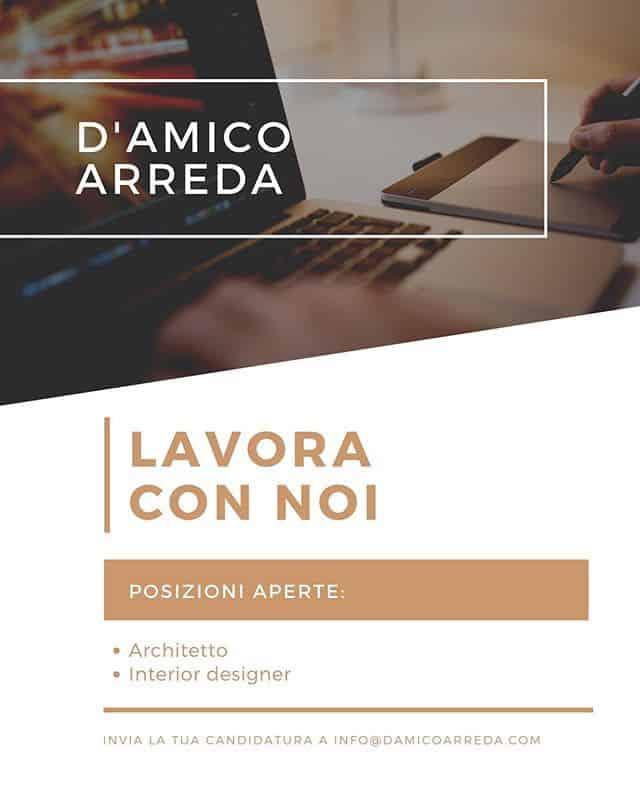Lavora con noi D'Amico Arreda