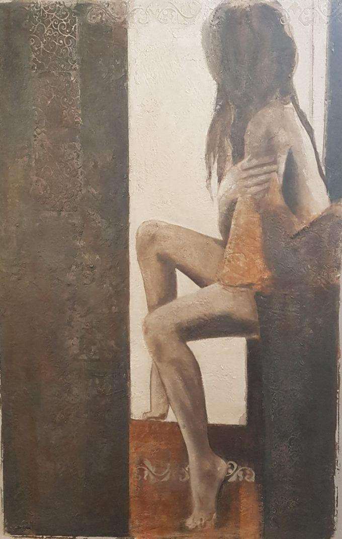 Di Stefano Luisa - Figure informali - Galleria d'Arte - D'Amico Arreda