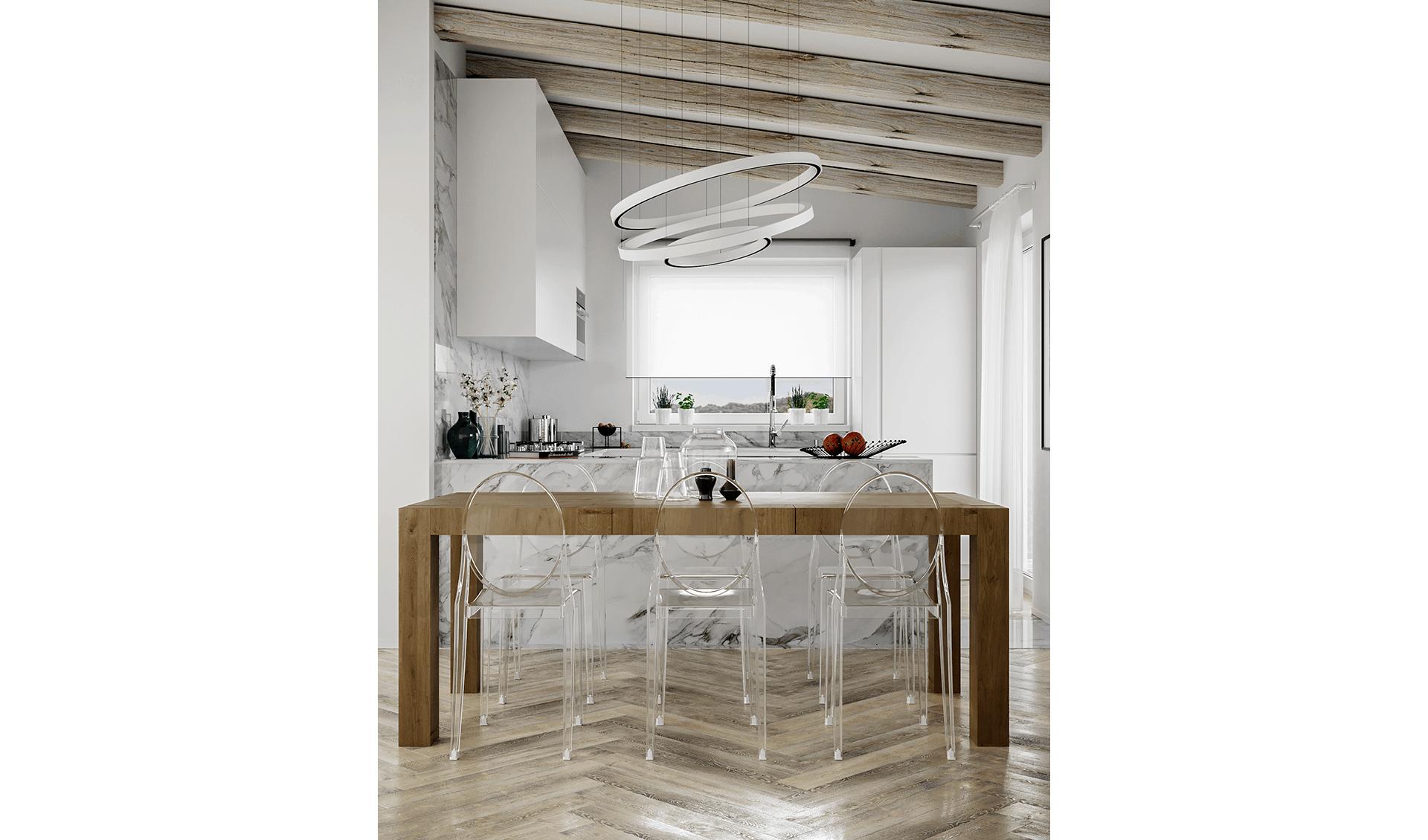 Cucina marmo D'Amico Arreda Group