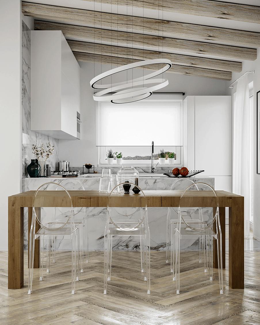 Cucina marmo D'Amico Arreda
