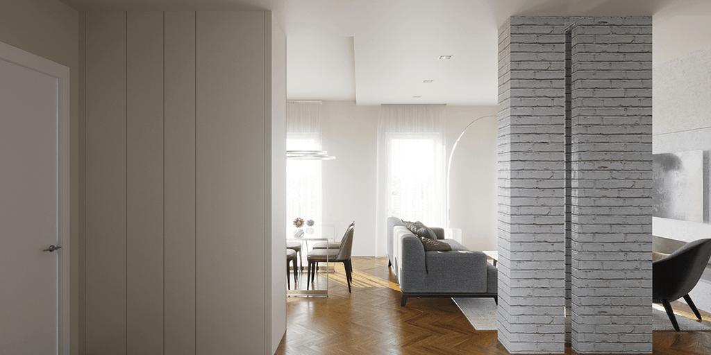 Progetto interni casa Sulmona D'Amico Arreda