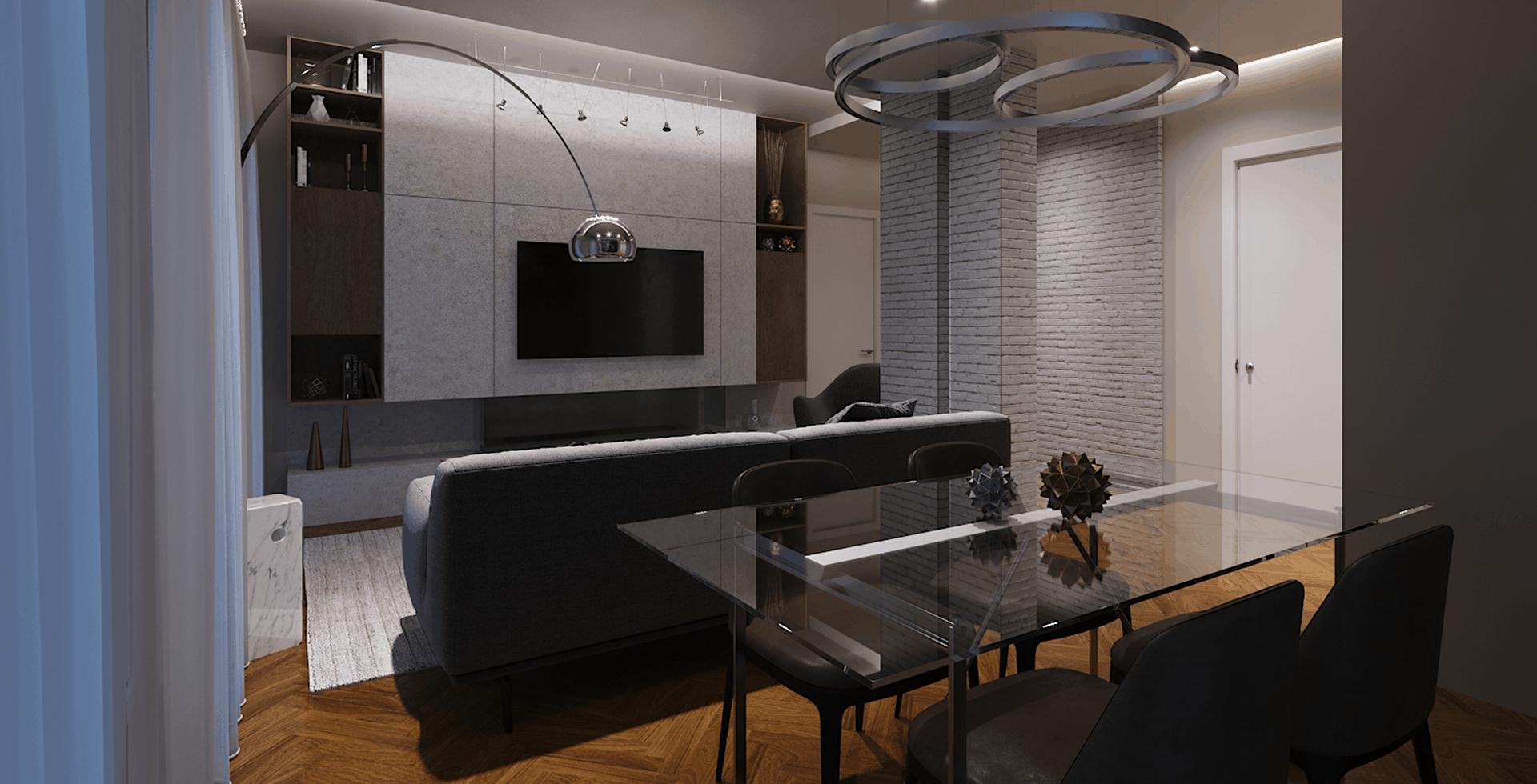 Progetto interior design Sulmona D'Amico Arreda