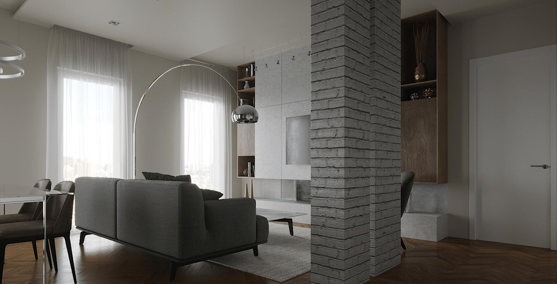 Progetto interni casa D'Amico Arreda