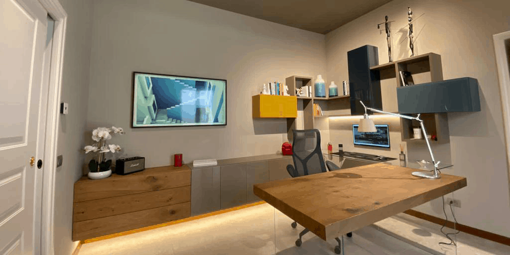Progetto arredamento ufficio smart working - D'Amico Arreda