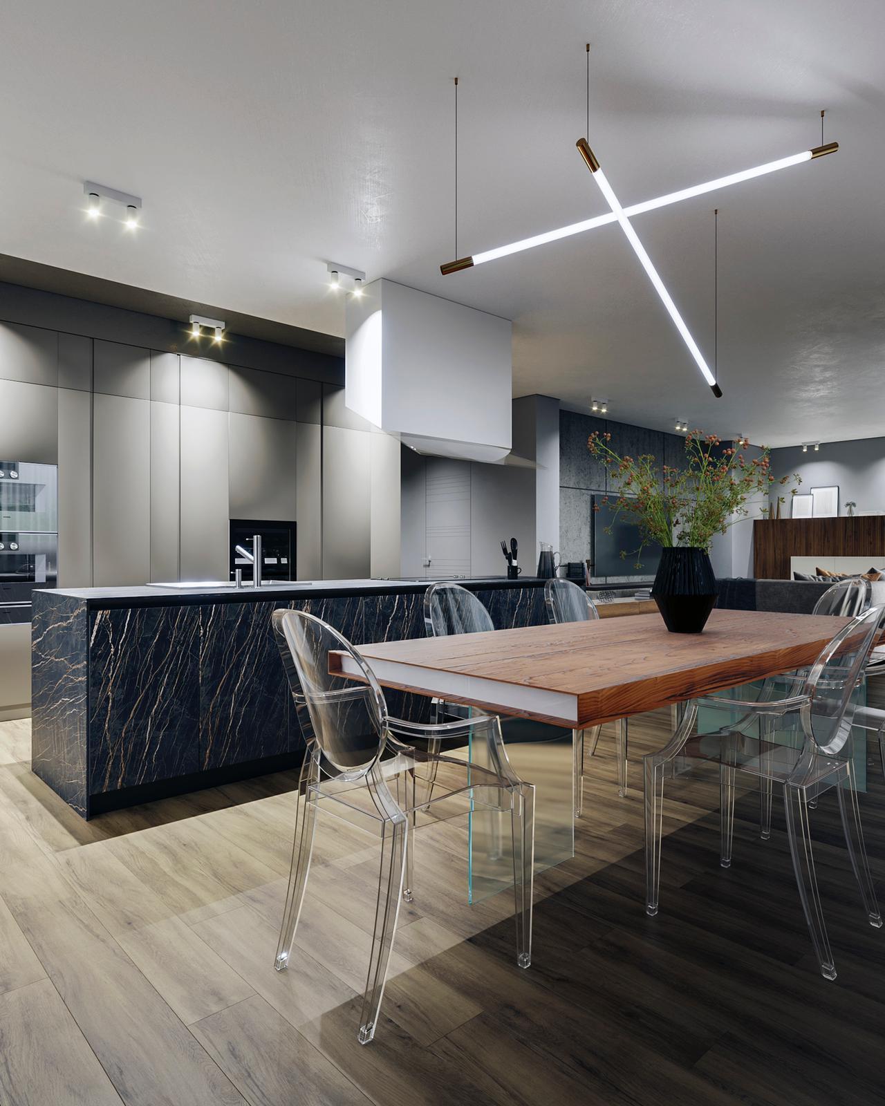 Progettazione cucina moderna D'Amico Arreda