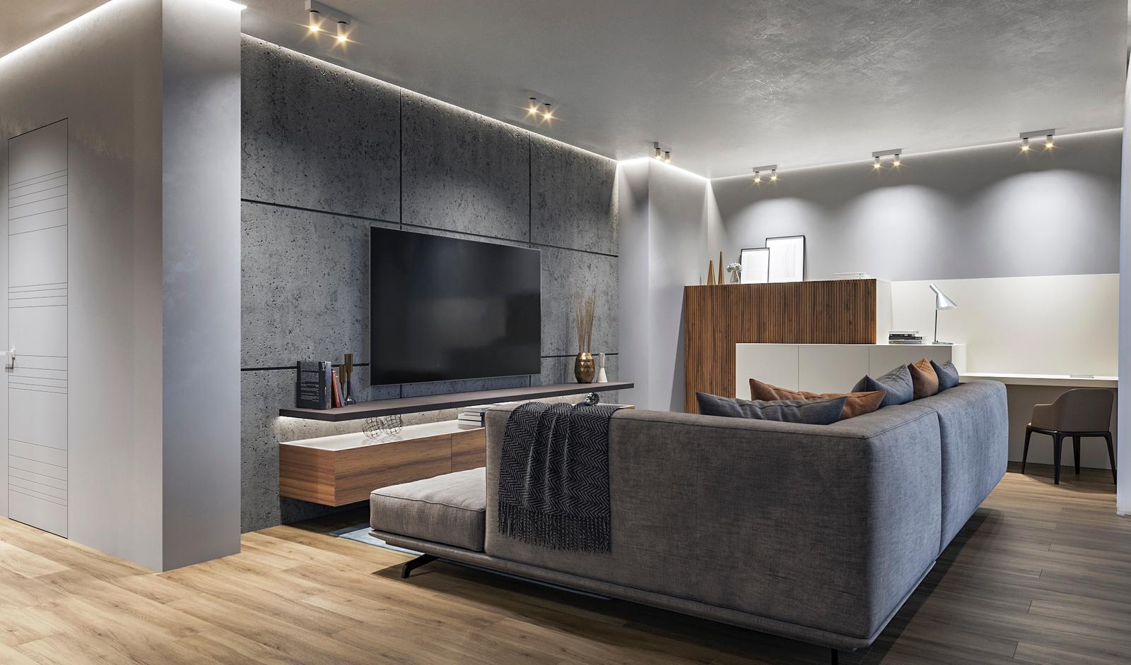 Interior design living D'Amico Arreda
